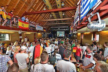 Public Viewing während der WM